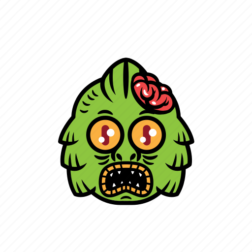 avatar, brain, greenlake, halloween, zombie icon
