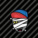 avatar, halloween, mummy, snapback