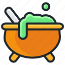cauldron, experiment, halloween, magic, potion, witch icon