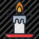 candle, halloween, light, night, pray icon