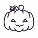 halloween, pumpkin, terror icon