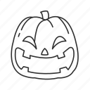 halloween, jack o'lantern, laughing pumpkin, pumpkin icon