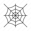 halloween, spider, spiderweb, web icon