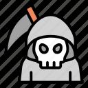 grim, halloween, horror, reaper, spooky