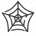 dusty, halloween, holidays, horrible, scary, spider, web icon