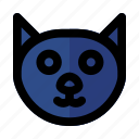 animal, cat, halloween, kitten, pet icon