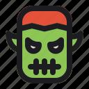 devil, halloween, monster icon
