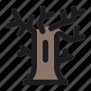 celebration, halloween, horror, scary, spooky, tree icon