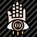 eyeball, halloween, hand, horror, scary