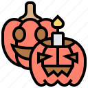 decoration, halloween, jack, lantern, pumpkin