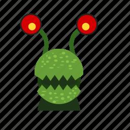 alien, cartoon, frankenstein, halloween, horror, monster, monsters icon