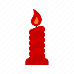 candle, candles, candlestick, decoration, flame icon