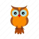 bird, dark, halloween, horror, midnight, owl, tree icon
