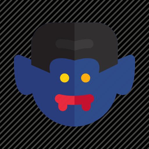 bat, dracula, evil, halloween, horror, spooky, vampire icon