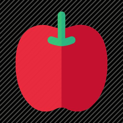 apple, food, fruit, halloween, natural icon