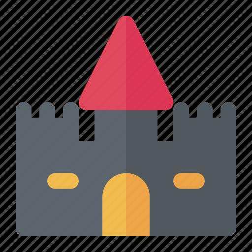 Castle, citadel, fortress, halloween, kingdom, medieval icon - Download on Iconfinder