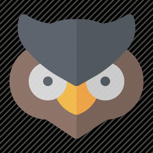 bird, halloween, night, owl icon