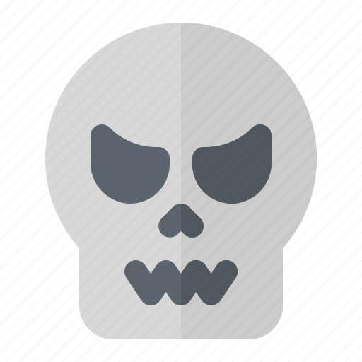 Bone, halloween, horror, pirate, scary, skeleton, skull icon - Download on Iconfinder