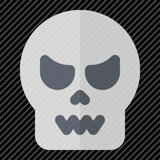 bone, halloween, horror, pirate, scary, skeleton, skull icon
