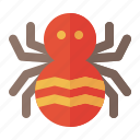 creepy, fear, halloween, insect, phobia, spider icon