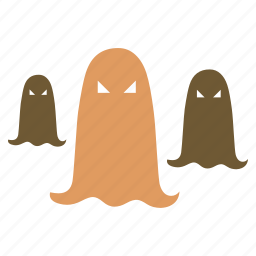 ghost, group, halloween icon