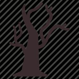 dead, horror, scary, spooky, treat, tree icon