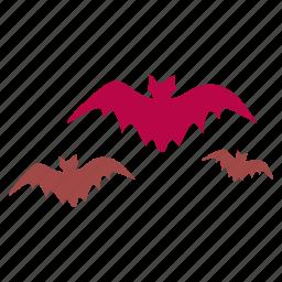 bat, bats, creature, dracula, dreadful, monster, vampire icon