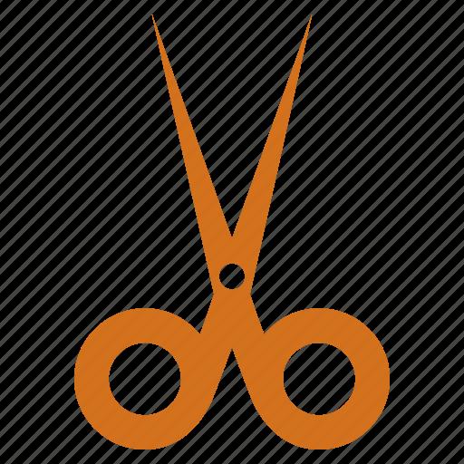 cut, paper, scissors, trim icon