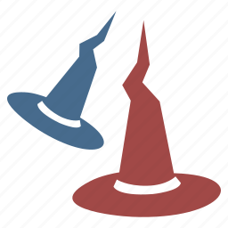 cap, halloween, head, witch, witches, wizard icon