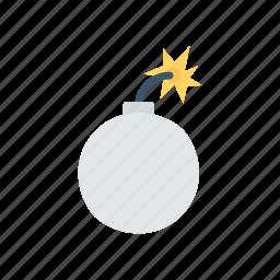 bomb, dynamite, explosive, firework icon