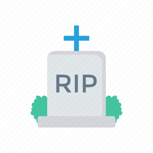 cemetery, churchyard, grave, tombstone icon