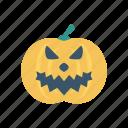 clown, halloween, pumpkin, skull