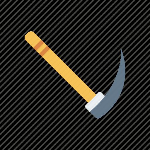axe, halloween, scythe, tool icon