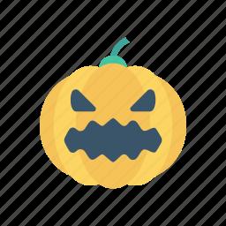 clown, halloween, jester, pumpkin icon