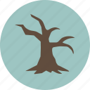 dead, nature, tree icon