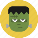 face, frankenstein, halloween, monster icon