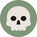 bone, death, skull icon