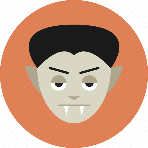 dracula, fangs, monster, vampire, werewolf icon
