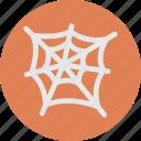 cobweb, halloween, spider, spiderweb, web icon