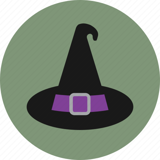 costume, halloween, hat, witch icon