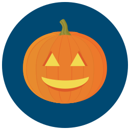 halloween, happy, pumpkin icon