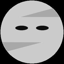 halloween, mummy icon