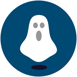 ghost, halloween, shocked icon