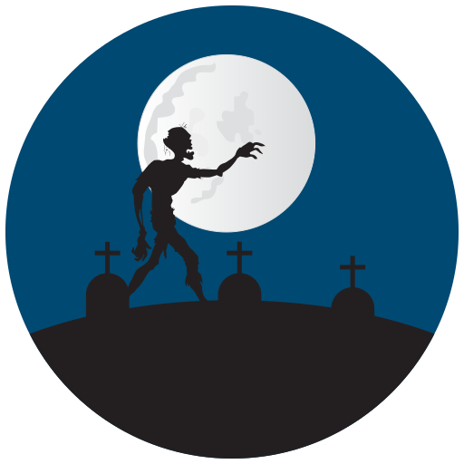 grave yard, graves, halloween, zombie icon