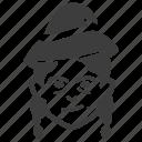 avatar, witch, wizard icon