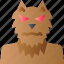 ghost, halloween, horror, monster, scary, spooky, werewolf icon