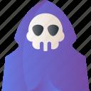 creepy, death, ghost, halloween, horror, scary, spooky icon