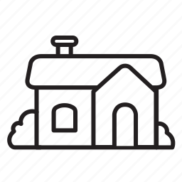 building, celebration, dark, halloween, house icon