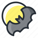 bat, halloween