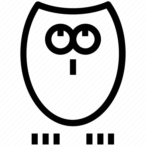animal, bird, halloween owl, nocturnal animal, owl, spooky icon